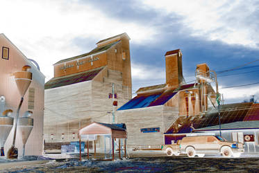 General Feed and Grain, Bonner's Ferry, Idaho 2 by quintmckown
