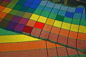 Rainbow Scarf II by quintmckown