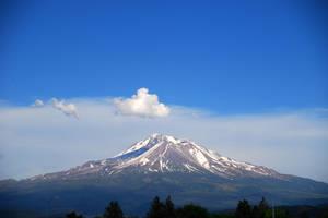 Mount Shasta by quintmckown