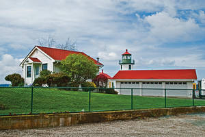 Alki Point Lighthouse, Seattle, Washington by quintmckown