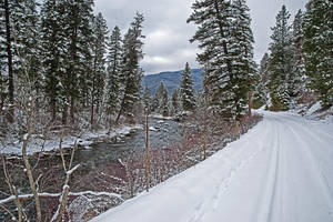 The Thompson River Road by quintmckown