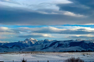 The Mission Mountains in the distance by quintmckown