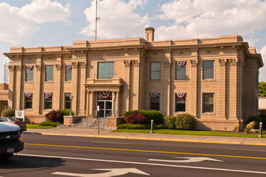 Madison County (Idaho) Court House by quintmckown