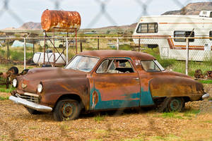 In the Studebaker Graveyard by quintmckown