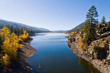 Fall at Dog (Rainbow) Lake by quintmckown
