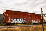 Graffiti on the tracks by quintmckown