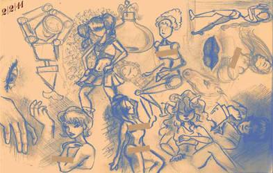 ODD Challenge: Sketch Dump by Jadeit3