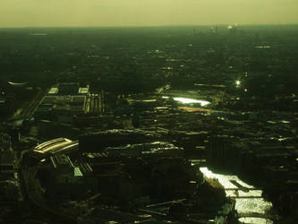 Berlin bird's eye view -3- by ArtistiqueRO