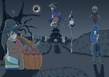 Concours Halloween by Linkdezelda