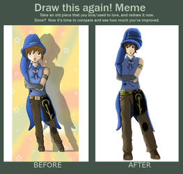 Draw this again Elenwe by Linkdezelda