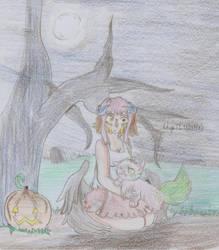 [Spooky Santa] Unknown and Ricola by Linkdezelda