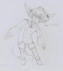 [OC Gijinka] Melon - Sketch - by Linkdezelda