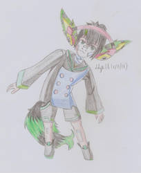 [OC Gijinka] Melon - Coloration traditionnel - by Linkdezelda