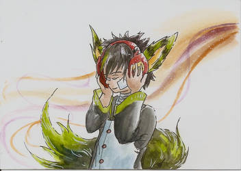[Commission][OC] Melon by Linkdezelda