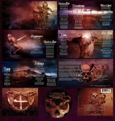 Luthor CD Design by damnengine