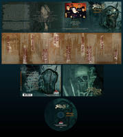 the setup - pretense cd design by damnengine