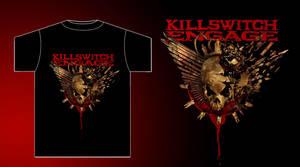 Killswitch Engage-Skull shirt by damnengine