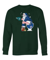 Santa-Claus-New-York-Giants-Vs-Philadelphia-Eagles by Elantrashirtsshop