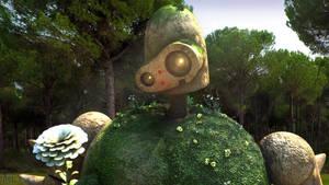 Laputa Robot Guardian Close-Up by NightmaresInd