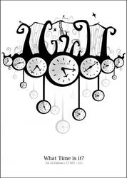 What time is it ? ---  White by TIME-24
