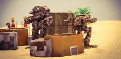 Desert Wars by Vortex013