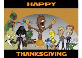 Star Wars Thanksgiving by hunterr