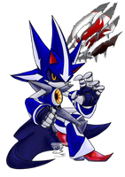 Commission- Neo Metal Sonic::Project Phoenix by Feniiku