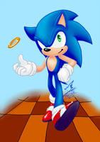 Sonic 108 redraw by Feniiku