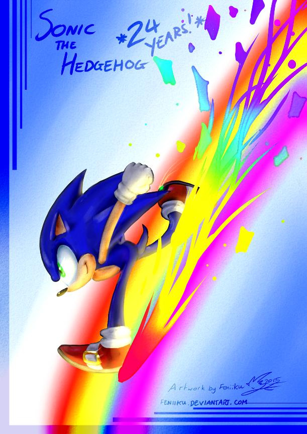 Sonic 24 by Feniiku