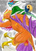Fallenmist Phoenix - Special Delivery! by Feniiku