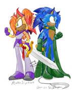 Sibling Weaponry by Feniiku