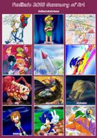 2015 Art Summary by Feniiku