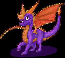 Spyro by Feniiku