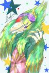 Grinning Raptor by Feniiku