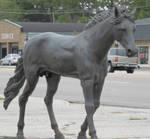 Horse Statue by superpower-pnut