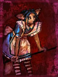 Alice Foxboy by turbinedivinity