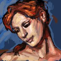 Portrait by turbinedivinity
