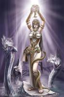 The Wanderers :  Priestess by misha-dragonov