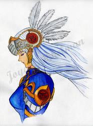 Valkyrie Profile - Lenneth by Motje