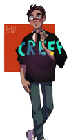 Be More Chill / MICHAEL MAKES AN ENTRAAANCE by friendlyburden