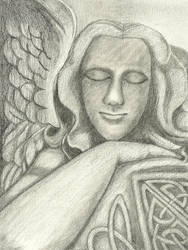 017-052 Celtic Angel 2 of 2 for 2013 by sweetmarly