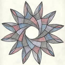 023-052 Mandala re-imagined by sweetmarly