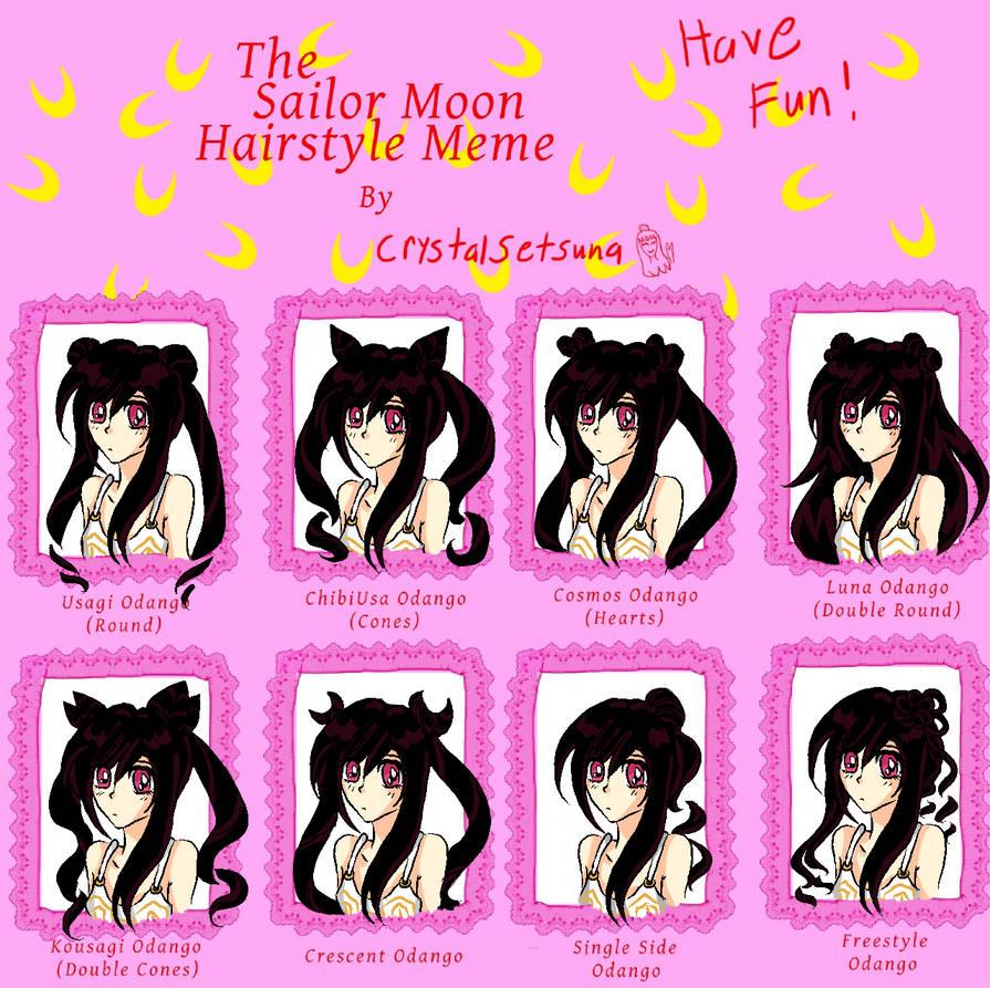 Sailor Moon Hair Meme By Alicesanthus On Deviantart
