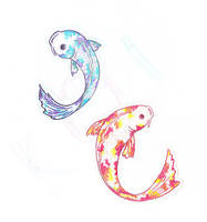 Koi Fish by Crimson-Grrl