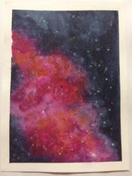 Galaxy #1 by drawingbaby1001