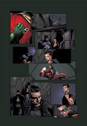 Batman the return page 26 by Eddy-Swan-Colors