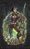 Lady Mechanika by Eddy-Swan-Colors