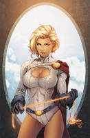 Powergirl by Eddy-Swan-Colors
