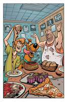 Scooby doo Page by Eddy-Swan-Colors