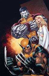 X-men by Eddy-Swan-Colors